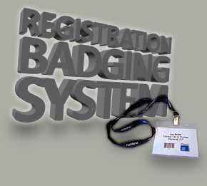 Conference Exhibition Badge Registration System